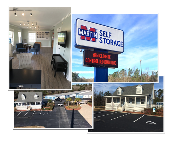 Martin Self Storage 7815 Ocean Highway E. Leland NC